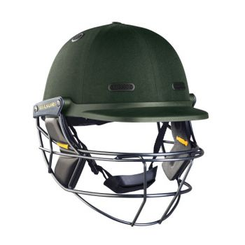 Masuri Vision Series Elite Steel Cricket Helmet - Green