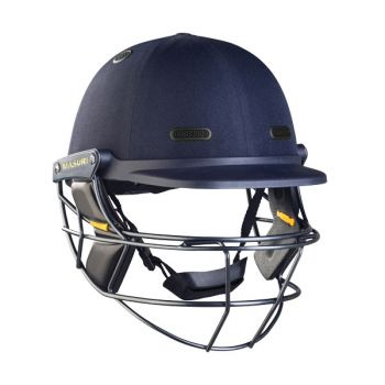 Masuri Vision Series Elite Titanium Cricket Helmet - Navy
