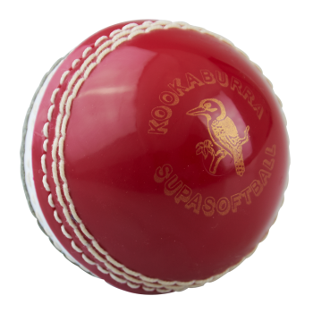 Kookaburra Super Softa Junior Ball - Red/White