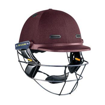 Masuri Vision Series Test Titanium Cricket Helmet – Maroon