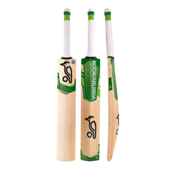 Kookaburra Kahuna Cricket Bat Pro Junior – White/Green