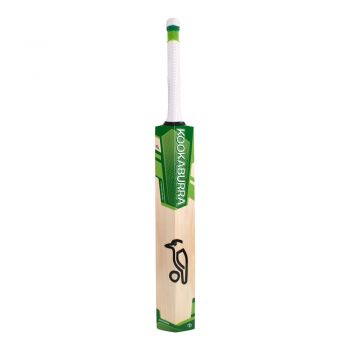 Kookaburra Kahuna Cricket Bat 1.1 – White/Green