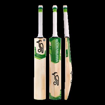 Kookaburra Kahuna Cricket Bat 4.1 – White/Green