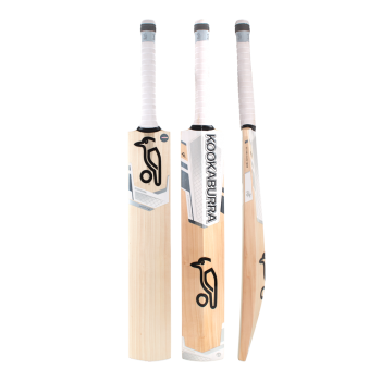 Kookaburra Ghost 1.0 Junior Cricket Bat – White/Silver