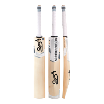 Kookaburra Ghost 1.2 Cricket Bat – White/Silver