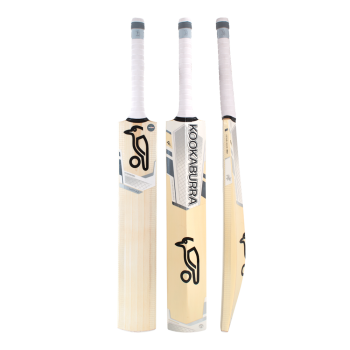 Kookaburra Ghost 5.0 Junior Cricket Bat – White/Silver