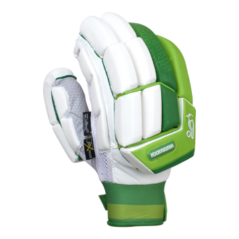 Kookaburra Kahuna Pro RH Batting Gloves - White/Green