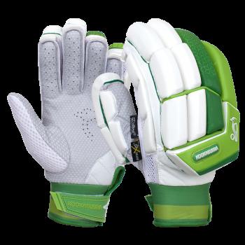 Kookaburra Kahuna Pro LH Batting Gloves - White/Green