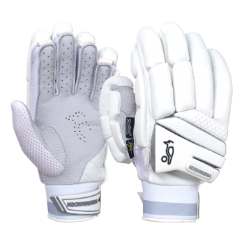 Kookaburra Ghost Pro LH Batting Gloves - White
