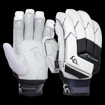Kookaburra Shadow Pro LH Batting Gloves – White/Black