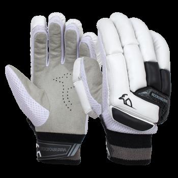 Kookaburra Shadow 5.1 Junior RH Batting Gloves - White/Black