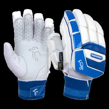 Kookaburra Pace Pro LH Batting Gloves – White/Blue
