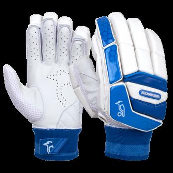 Kookaburra Pace 2.4 RH Batting Gloves - White/Blue