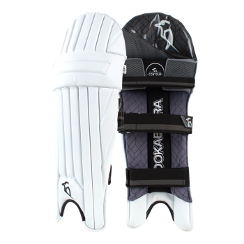 Kookaburra Shadow 2.3 RH Batting Pads - White/Black