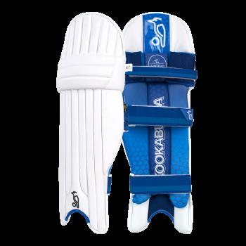 Kookaburra Pace Pro LH Batting Pads – White/Blue
