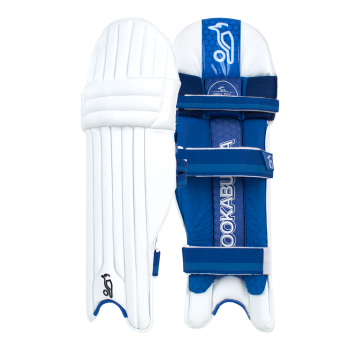 Kookaburra Pace 2.4 LH Batting Pads - White/Blue