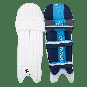Kookaburra Rampage 4.0 RH Junior Batting Pads - White/Dark Blue