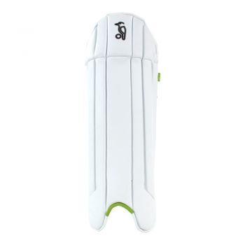 Kookaburra 1.0 Wicket Keeping Pads - White/Green