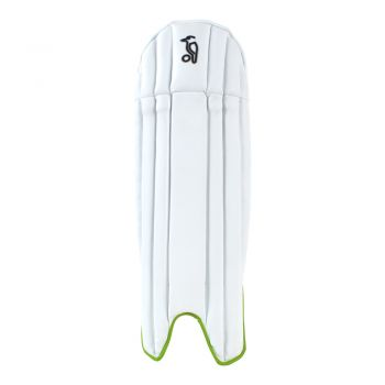 Kookaburra 5.0 Wicket Keeping Pads - White/Green