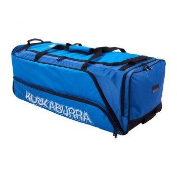 Kookaburra Pro 1.0 Wheelie Bag – Navy/Cyan