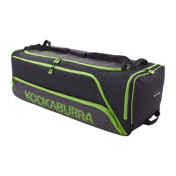 Kookaburra Pro 2.0 Wheelie Bag – Black/Lime
