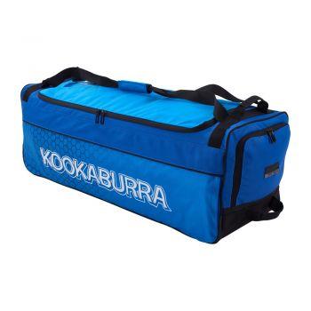 Kookaburra Pro 3.0 Wheelie Bag – Navy/Cyan