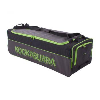 Kookaburra 4.0 Wheelie Bag – Black/Lime