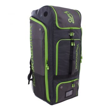 Kookaburra Pro Duffle Bag – Black/Lime