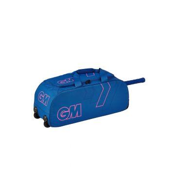 Gunn & Moore 606 Wheelie Bag – Blue/Pink