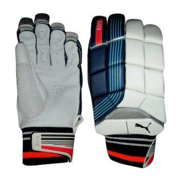 Puma Evo Power 3 Tricks Junior LH Batting Gloves - White/Multi