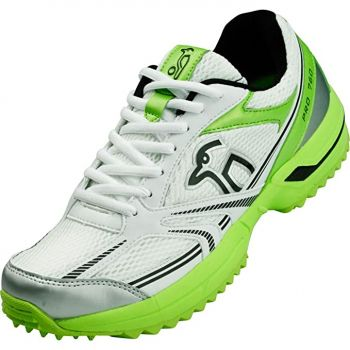 Kookaburra Pro 760 Rubber Junior Cricket Shoes - Green
