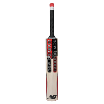 New Balance TC 860 Junior Cricket Bat - Silver/Red/Black