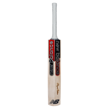 New Balance TC Players Edition Cricket Bat - Silver/Red/Black