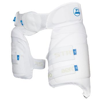 Aero P1 Lower Body Protector LH - White/Blue