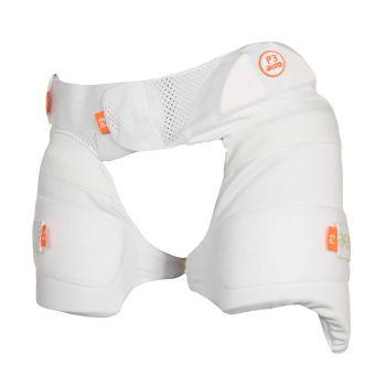 Aero P3 Lower Junior Body Protector RH - White/Orange