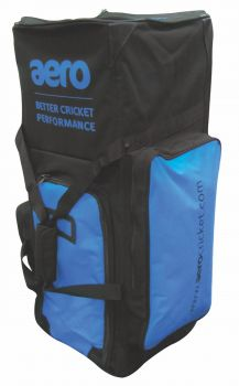 Aero Stand Up Cricket Bag – Black/Blue