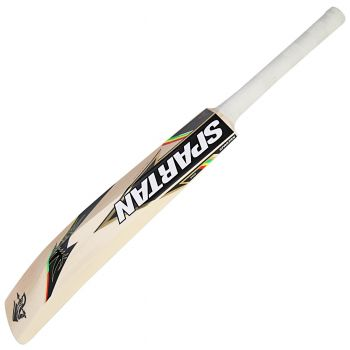 Spartan Boss Thunder Cricket Bat - Green/Yellow/Red