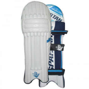 Spartan Performance 2000 Batting Pads - White/Blue