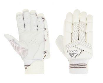 Adidas XT 2.0 LH Batting Gloves – White/Grey