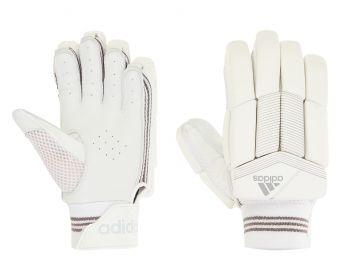 Adidas XT 4.0 LH Batting Gloves – White/Grey