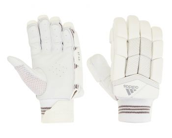 Adidas XT 3.0 LH Junior Batting Gloves – White/Grey
