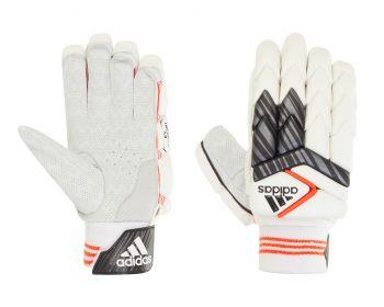 Adidas INCURZA 1.0 LH Batting Gloves – White/Blue