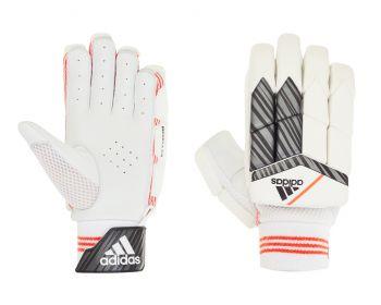 Adidas INCURZA 3.0 LH Batting Gloves – White/Blue