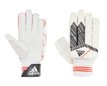 Adidas INCURZA 3.0 LH Junior Batting Gloves – White/Blue