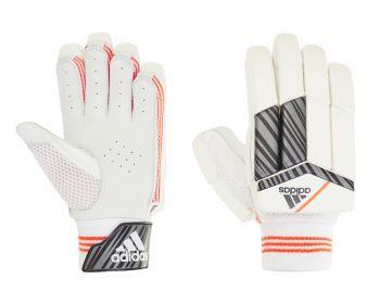 Adidas INCURZA 4.0 RH Junior Batting Gloves – White/Blue