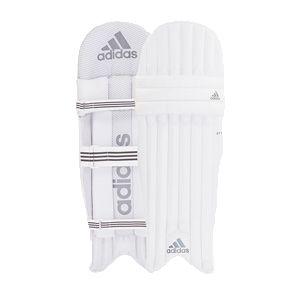 Adidas XT Grey 5.0 AMBI Junior Batting Pads – White/Grey/Gray