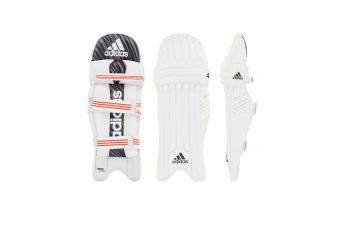 Adidas Incurza 1.0 RH Batting Pads – White/Blue