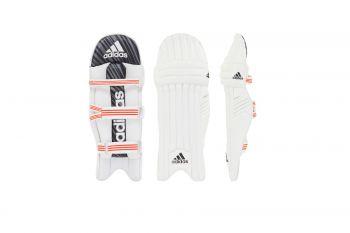 Adidas Incurza 2.0 RH Batting Pads – White/Blue