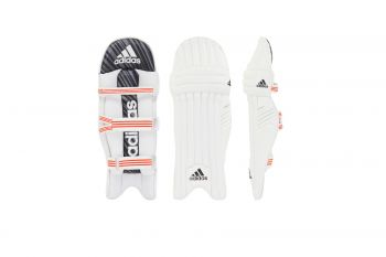 Adidas Incurza 2.0 LH Batting Pads – White/Blue