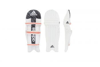 Adidas Incurza 3.0 RH Batting Pads – White/Blue